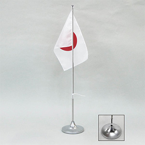 卓上旗スタンド−1 1本立て用 竿伸縮式 248211