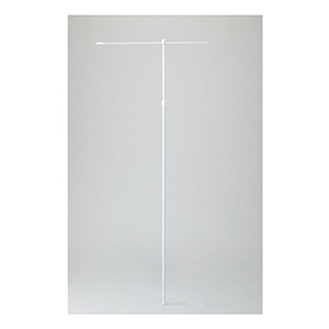 ノボリ用ポール A−W 255101 白