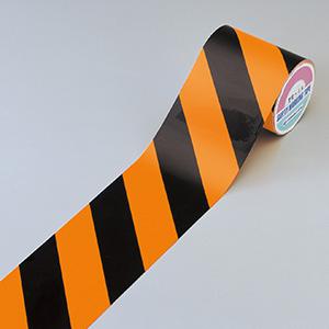 蛍光トラテープ TR4−A 90mm幅×10m×0.2mm 256401