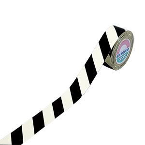 蓄光シマテープ TR6−A 60mm幅×30m×0.12mm 256601