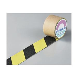 滑り止めテープ SV−50TR 50mm幅×3m 蛍光黄/黒 260097
