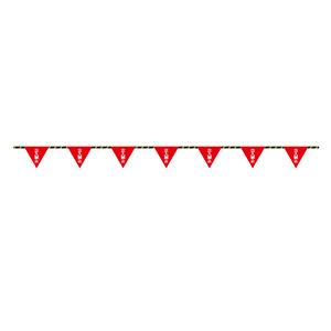 フラッグ標識ロープ−8 立入禁止 281008