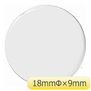 超強力 カラーマグネット WMG−461W 18mm径 白 3個 315011