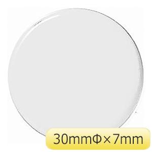 超強力 カラーマグネット WMG−471W 30mm径 白 2個 315021