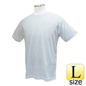 熱中対策 涼感 ワークTシャツ ホワイト L 375239