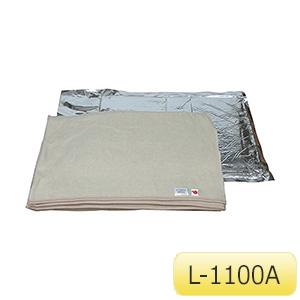 備蓄用毛布 L−1100A 10枚入 380144