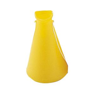 プラスチックメガホン 黄 380164