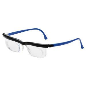度数調節メガネソフトケース ブルー 380197