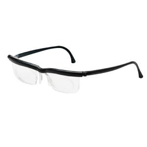 度数調節メガネソフトケース ブラック 380199