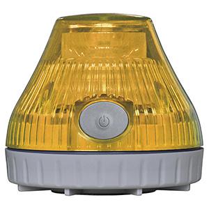 携帯型充電式 LED回転灯 黄 380228