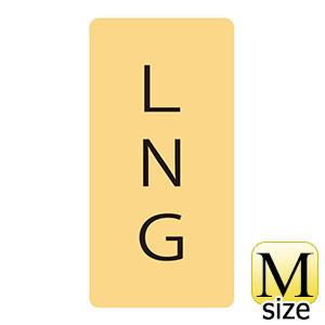 JIS配管識別明示ステッカー HT−726 M LNG 385726