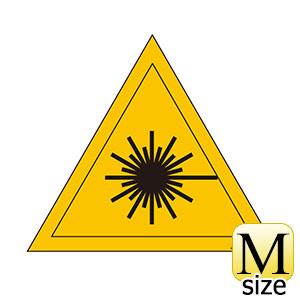 レーザー警告ラベル JA−601M 392601