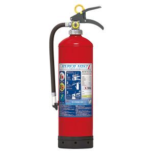 強化液消火器 376−140A リサイクルシール付き