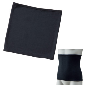吸湿発熱ウエストウォーマー ブラック WT−6041BK