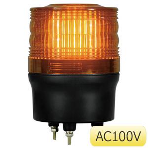 LED回転灯90 882−981YE 黄 100V