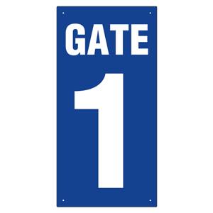 ゲート表示板 305−30A GATE 1 タテ