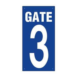 ゲート表示板 305−32A GATE 3 タテ
