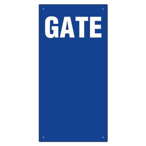 ゲート表示板 305−34A GATE 数字なし タテ
