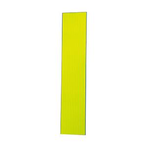 高輝度スリム反射看板 蛍光黄 無地 板のみ 396−101
