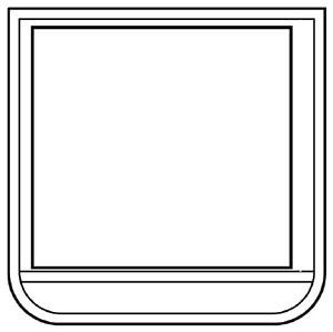 ポケット胸章 368−121 ワニ口タイプ 白