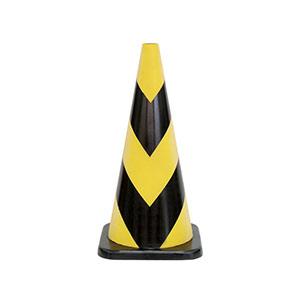 セフティラバーコーン 385−14A 700H 黄色反射