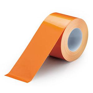 ユニフィットテープ 863−659 橙 100mm幅×20m