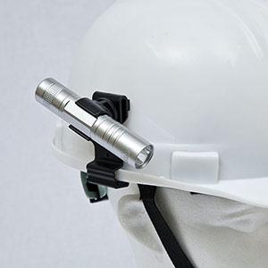 ペンライト・ホルダー 377−604A 側面溝付型用