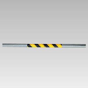 サントラスリット 374−714 500mm 反射 黄/黒 5本1組