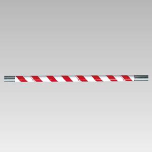 サントラスリット 374−715 1000mm 赤/白 5本1組