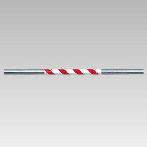 サントラスリット 374−716 500mm 赤/白 5本1組