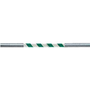 サントラスリット 374−718 500mm 緑/白 5本1組