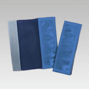 反射識別カラーバンド 378−904 青 2枚1組