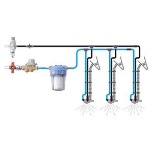 熱中対策 クールミストLine 3台連結セット HO−960