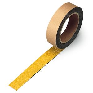 すべり止めテープ 374−722 シマ鋼板用 黄 25mm幅×3m