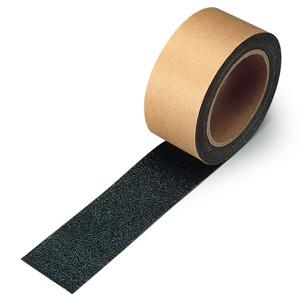 すべり止めテープ 374−724 シマ鋼板用 黒 50mm幅×18m