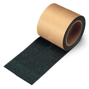 すべり止めテープ 374−725 シマ鋼板用 黒 100mm幅×18m