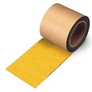すべり止めテープ 374−727 シマ鋼板用 黄 100mm幅×18m