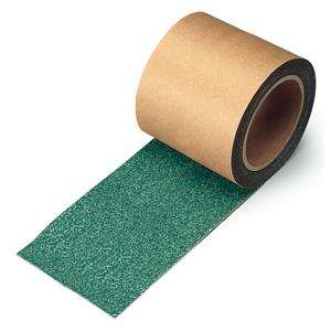 すべり止めテープ 374−729 シマ鋼板用 緑 100mm幅×18m