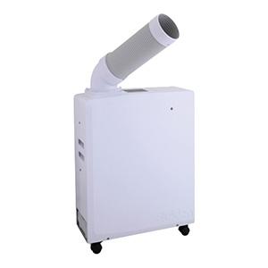 熱中対策 スポットエアコンポータブルタイプ 白 HO−608