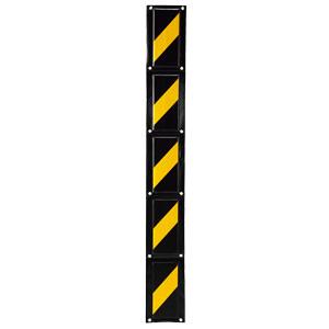 フェンスクッション 304−41 黒/黄 反射