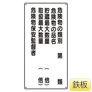 危険物標識 319−16 危険物の類別5行