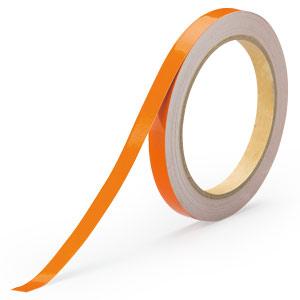 反射テープ 374−35 橙 10幅×10m