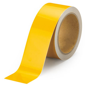 反射テープ 374−37 黄 50幅×10m
