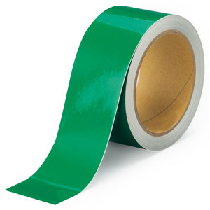 反射テープ 374−38 緑 50幅×10m