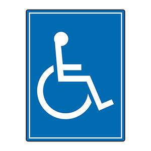 路面表示用品 ユニロードフィット 835−82 身障者マーク