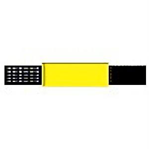 ピンレスゴム腕章黄 848−51