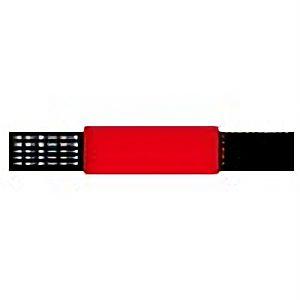 ピンレスゴム腕章赤 848−53