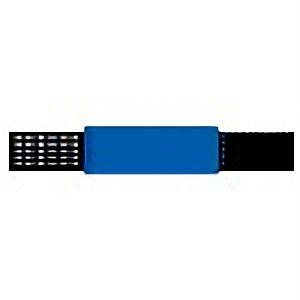 ピンレスゴム腕章青 848−54