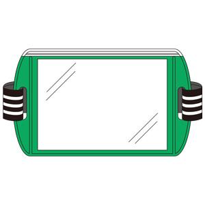 差込式アームホルダー 848−73 緑