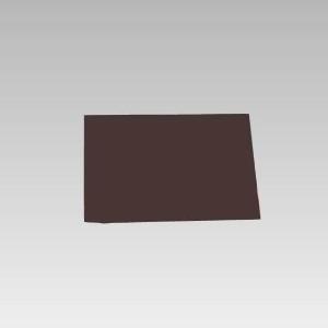 茶無地マグネット 892−16 500×500